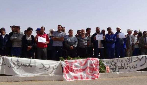 Les travailleurs sacrifiés par le syndicat maison et le pouvoir.