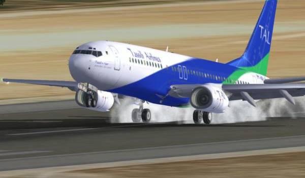 Tassili Airlines, une compagnie algérienne.