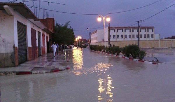 Inondations à Batna et ses environs.