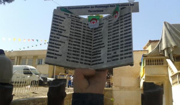 La liste de martyrs de la commune.