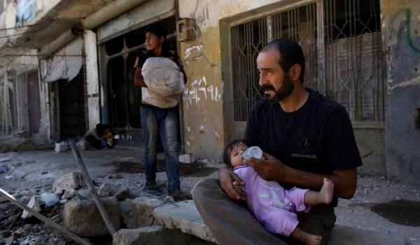 L'incommensurable drame du peuple syrien.