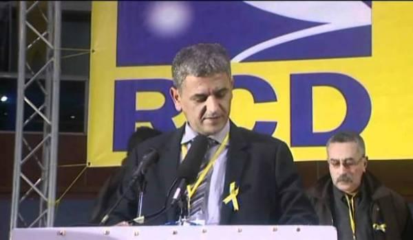 Mohsen Belabas, président du RCD