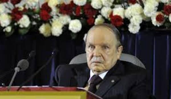 Bouteflika seul décidé du destin de l'Algérie, dixit Ouyahia.
