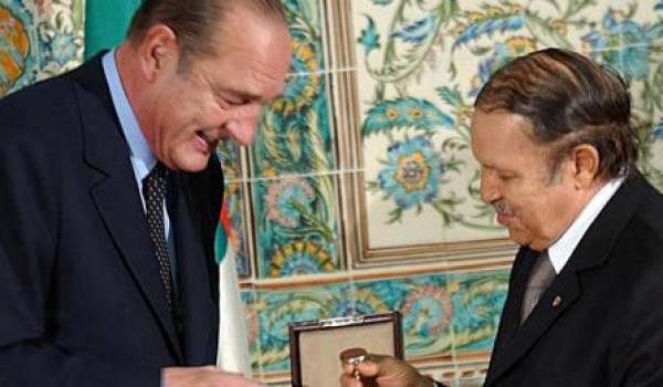 Bouteflika a un faible pour la France.