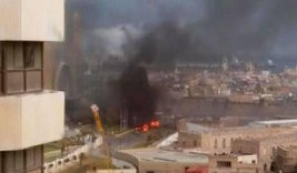 L'explosion du siège de la compagnie Mellitah Oil and Gas