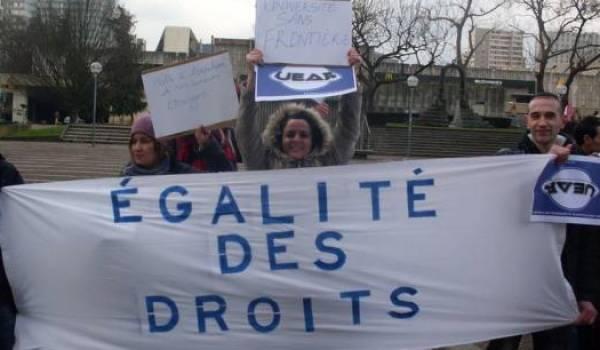 Une circulaire a été rédigée pour l'amélioration de l'accueil des étudiants étrangers en France.