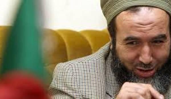 Madani Mezrag bombe le torse et veut revenir sur la scène politique.