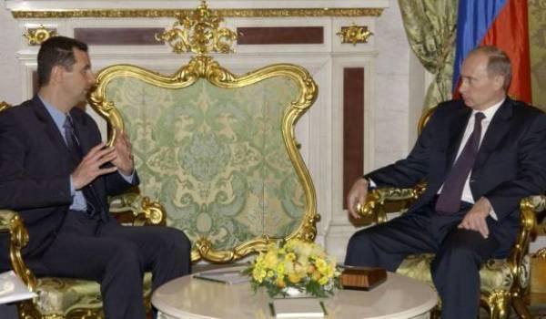 Vladimir Poutine est un soutien précieux du dictateur syrien.
