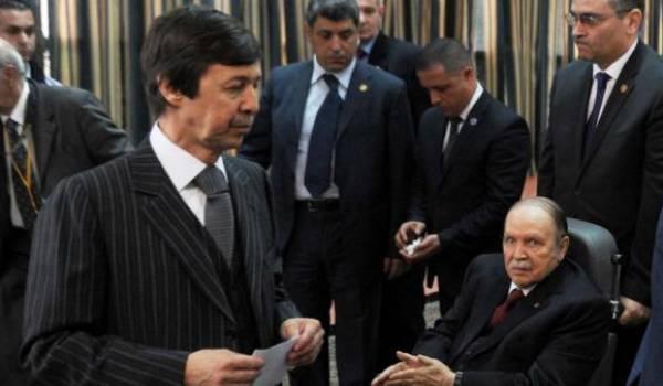 Said et son frère Abdelaziz Bouteflika tiennent le destin de tout un pays entre leurs mains.