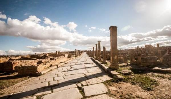 Le patrimoine berbéro-romain en Algérie n'est pas valorisé.