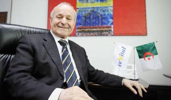 Issad Rebrab, patron de Cevital, cible de menaces du clan au pouvoir.