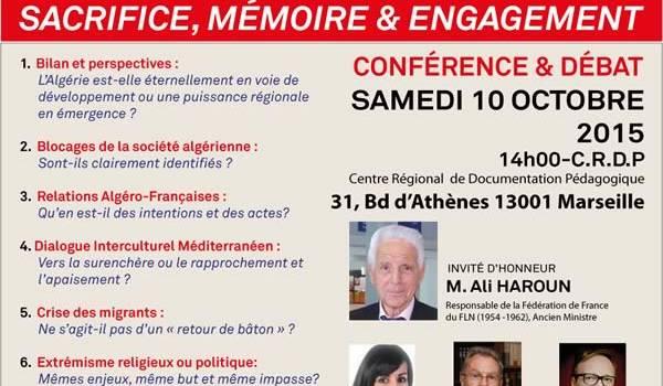 L'affiche de la conférence-débat