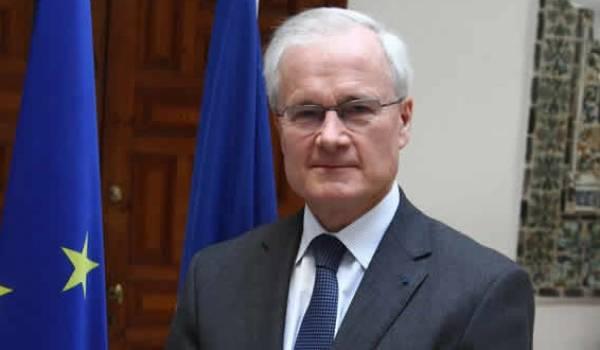 Bernard Emié, l'ambassadeur de France en Algérie.
