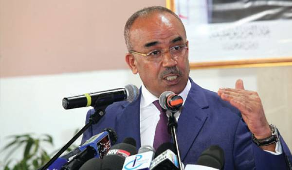 Noureddine Bedoui, le ministre de l'Intérieur