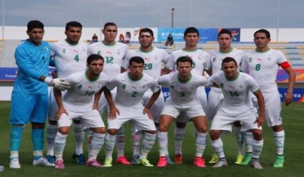 L'équipe militaire d'Algérie