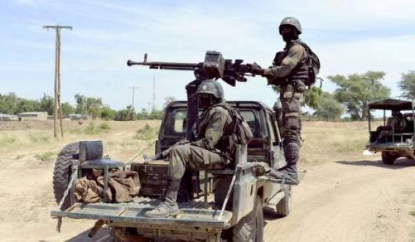 L'armée nigeriane libère des femmes captives de Boko Haram.