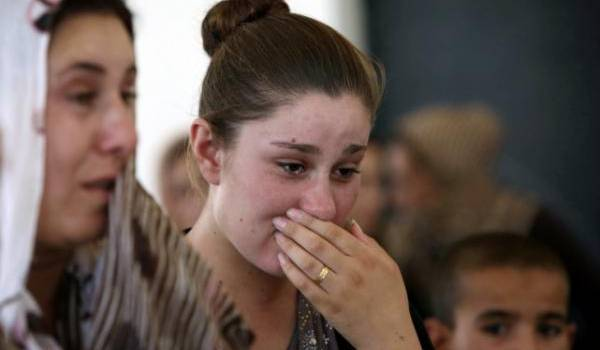 Les femmes yézidis sont victimes sexuelles des jihadistes de Daech