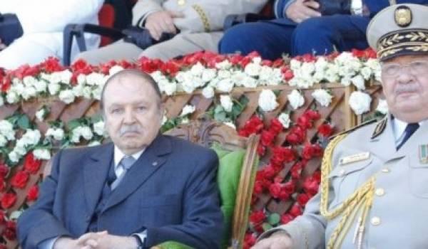 Bouteflika et Gaid Salah