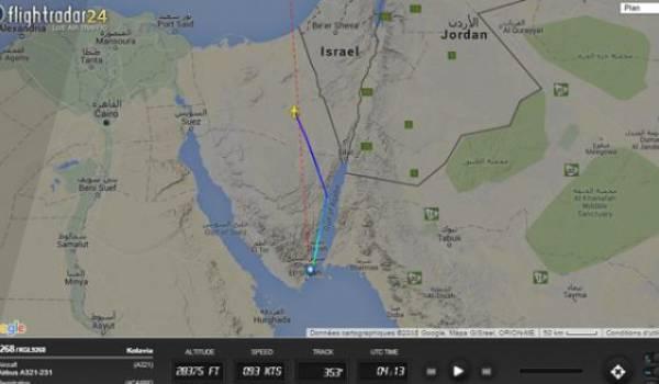 Un avion civil russe avec 224 passagers à son bord s'écrase dans le Sinaï