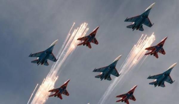 L'aviation militaire russes a bombardé plusieurs cibles.
