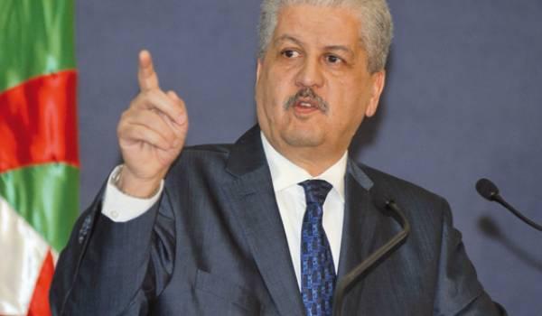 Le premier ministre Abdelmalek Sellal a montré son incapacité jusqu'à présent à diversifier l'économie algérienne.