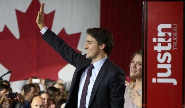 A 43 ans, Justin Trudeau va devenir l'un des plus jeunes chefs de gouvernement de l'histoire du Canada.
