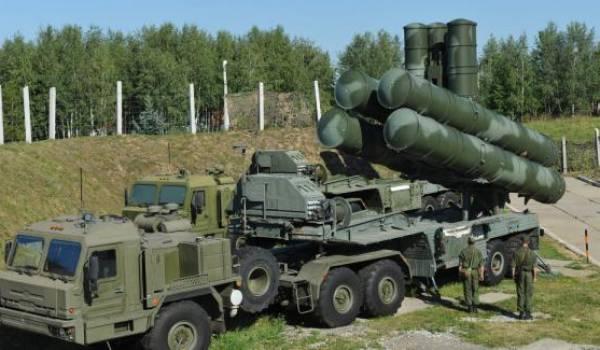 Le système antiaérien russe.