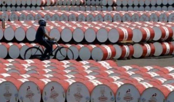 Le pétrole en nette baisse.
