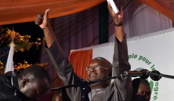 Roch Marc Christian Kaboré, le nouveau président du Burkina;