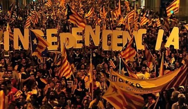Le projet d'indépendance a mobilisé une forte majorité de Catalans.