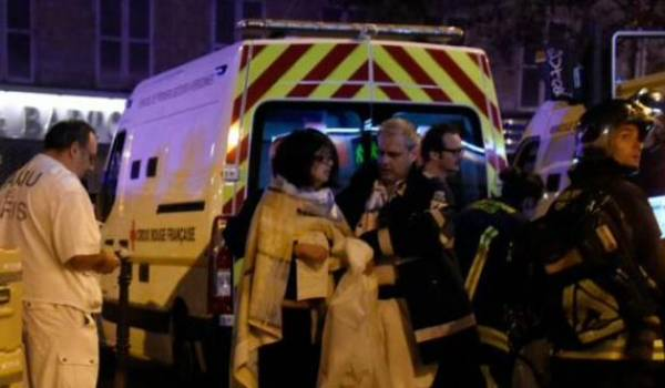 La France sous le choc de ce terrible et sanglant attentat.