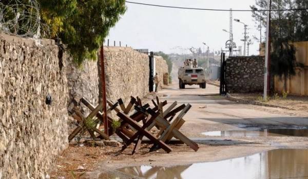 La zone frontalière de Rafah, côté égyptien est un lieu de passage vers Israël.