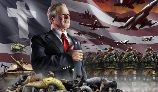 Les Bush et les USA manipulent guerres et populations.