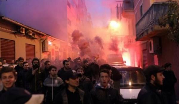 Manifestation raciste en Corse. Photo AFP.