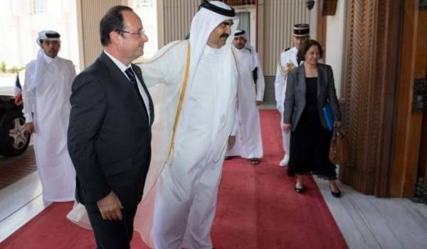 Hollande et sa diplomatie du chèque coûte cher à la France.