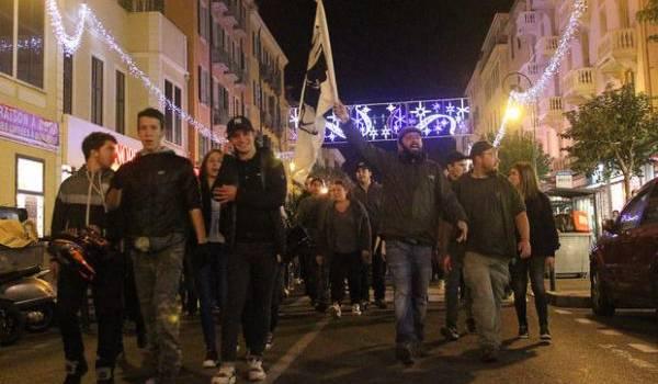 Le racisme primaire de centaines d'extrémistes en Corse s'est fait entendre ce week-end.