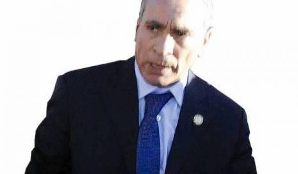 Le général-major Djamel Kehal Mejdoub