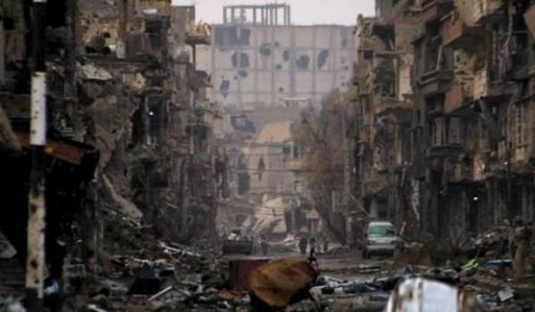 La Syrie ravagée par la guerre. Crédit AFP