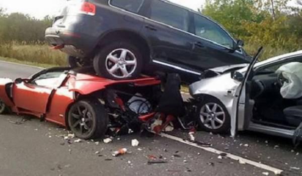 Les routes algériens sont un danger constant.