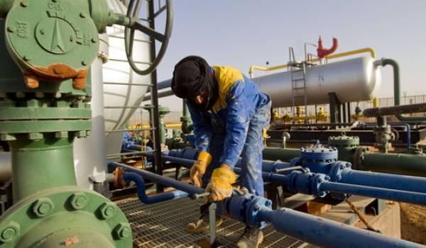 Petit frémissement du cours pétrolier.