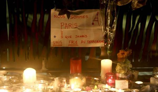 Les attentats du 13 novembre ont produit un énorme choc dans la société. Photo de François Navarro.