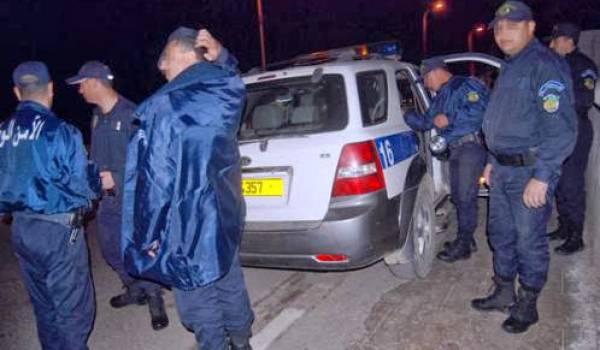 Des policiers en intervention