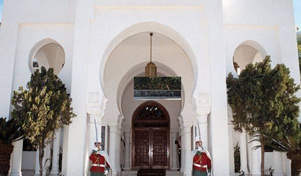 Le palais présidentiel.