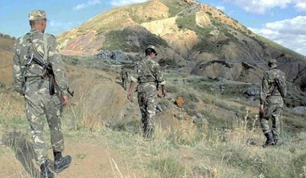 Des soldats de l'ANP en opération.