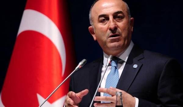 Le chef de la diplomatie turque Mevlut Cavusoglu