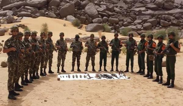 Les soldats de l'ANP ont réussi à neutraliser quatre terroristes.
