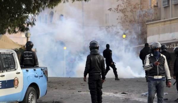 Les manifestants ne décolèrent pas à Kasserine.