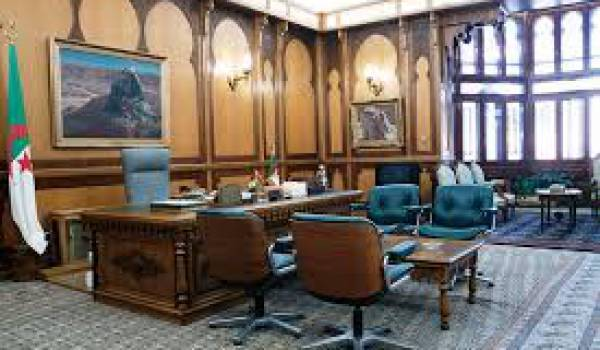 Bureau du président.