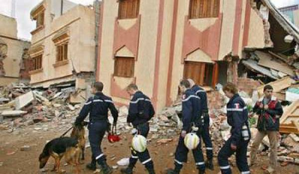 La ville rifaine d'Al Hoceima a déjà connu un terrible séisme en 2004.