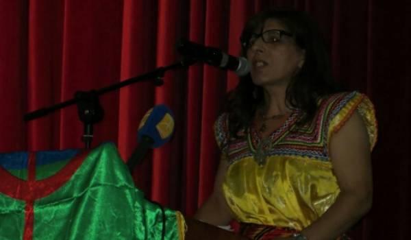 Kamira Nait-Sid, militante pour les droits des Amazighs,